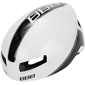 BBB Tithon BHE-08 Cykelhjelm hvid/sort